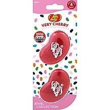 image of Jelly Belly Jewel Duo Mini Air Freshener - Very Cherry