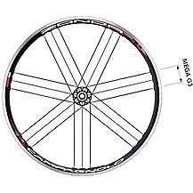 image of Campagnolo Zonda Pair Wheels 700c - Black