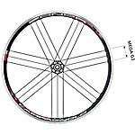 image of Campagnolo Zonda Pair Wheels 700c - Black