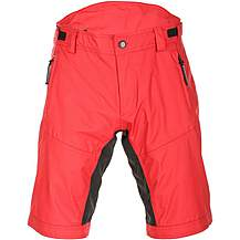 image of Boardman MTB Water Resistant Shorts - Red