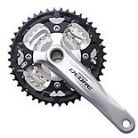 Shimano Deore FC-M590 2 Piece Design 9-Speed Chainset - Silver