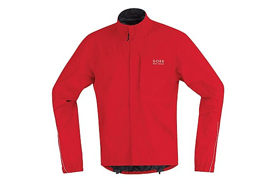 Gore Mens Path Jacket - Red