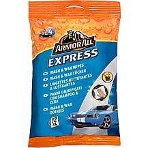 image of Armor All Express Wash & Wax Wipes