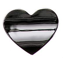 image of Chrome Sign Badge Heart