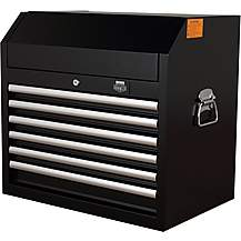 image of Halfords Advanced 6 Drawer Tool Chest - Black