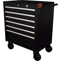 image of Halfords Advanced 6 Drawer Tool Cabinet - Black