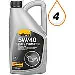 image of Halfords 5W40 Fully Synthetic Oil 2L