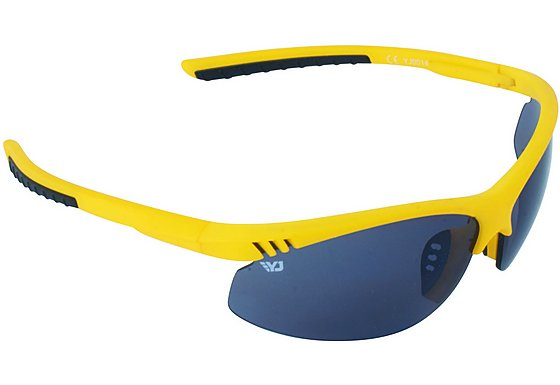 Yellow Jersey Semi Rimless Sunglasses - Yellow