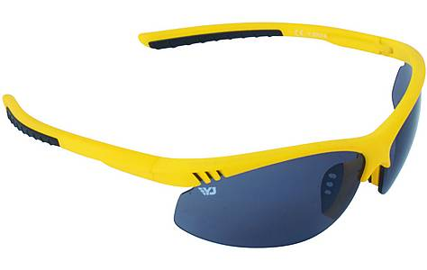 image of Yellow Jersey Semi Rimless Sunglasses - Yellow