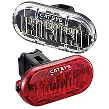 image of Cateye Bike Light Set - HL135 & LD135