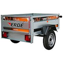 image of Erde 153 Car Trailer