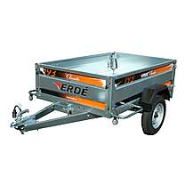 image of Erde 193 Car Trailer