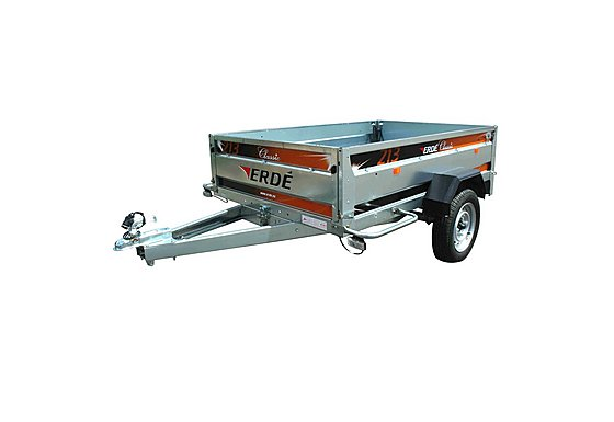 Erde 213 Car Trailer