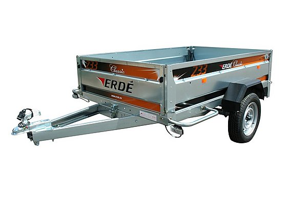 Erde 233 Car Trailer