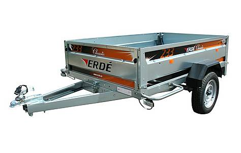 image of Erde 233 Car Trailer