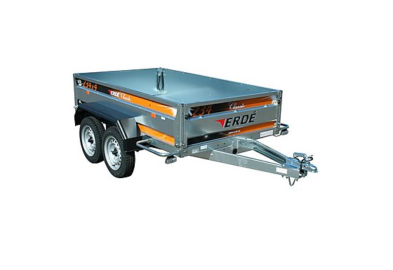 Erde 234 Car Trailer