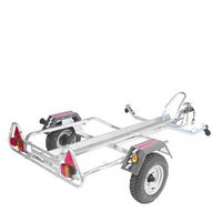 Erde PM310/R Motor Cycle Trailer