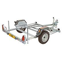 image of Erde CH451 Motor Cycle Trailer