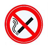 Storm Graphics No Smoking Double Sided Sticker 70mm