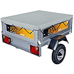 image of Erde 142 Flat Trailer Cover