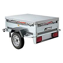 image of Erde 234x4 Flat Trailer Cover