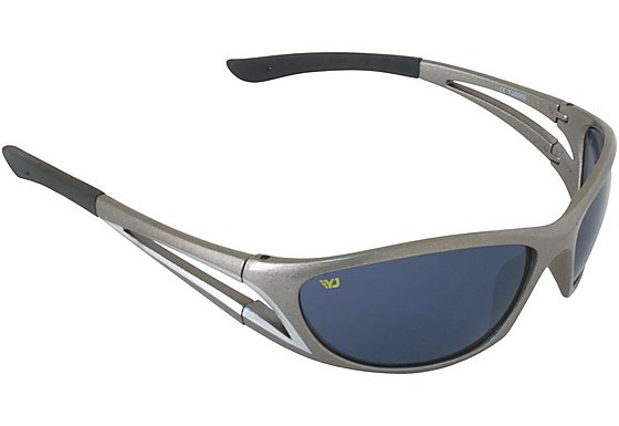 Yellow Jersey Wrap Sunglasses - Grey