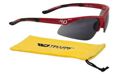 image of Yellow Jersey Sunglasses - Red
