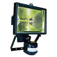 image of Smartwares 400W Black Floodlight with PIR