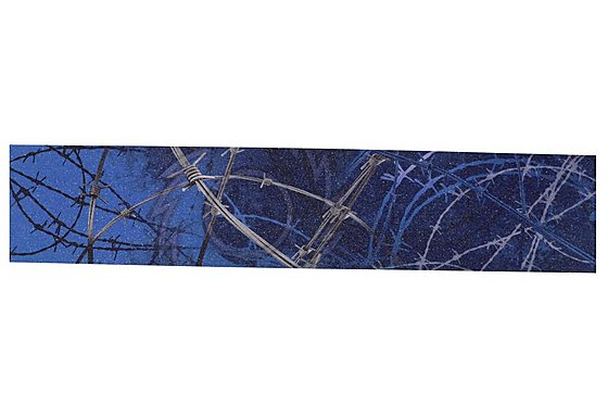 Razor Griptape Barbed Wire Blue