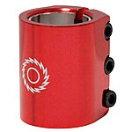 image of Razor 3 Bolt Triple Clamp Red
