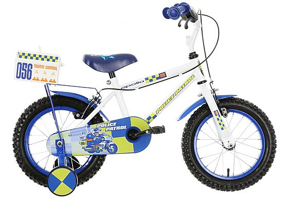 Apollo Police Patrol Boys Bike - 14