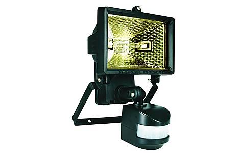 image of Smartwares 120W Black Floodlight with PIR