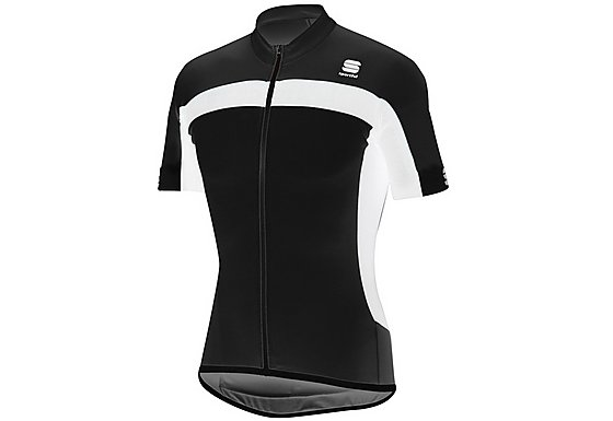 Sportful Pista Long Zip Cycle Jersey - Black - Medium