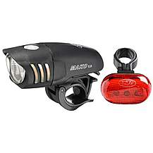 image of NiteRider Mako 5.0 Front Light & TL 5.0 Rear Light Combo
