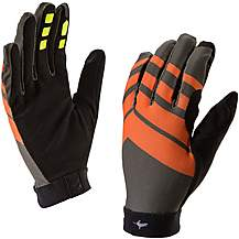 image of Sealskinz Dragon MTB Lite Glove - Grey/Orange