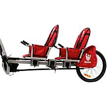 image of Weehoo IGO Two Child Bike Trailer