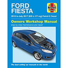 image of Haynes Ford Fiesta (Apr 13 - 17) Manual
