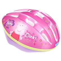 image of Peppa Pig Girls Bike Helmet (52-56cm)