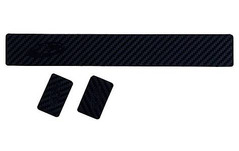 image of Lizard Skins Carbon Leather Chainstay Guard (with 2 Patches)