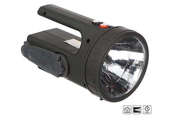 Halfords Wind Up LED Spotlight