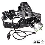 image of Halfords Advanced LED Rechargeable Head Light Torch