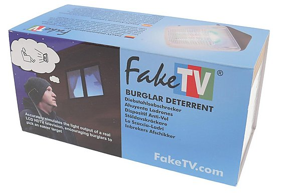 Response Fake TV Burglar Deterrent