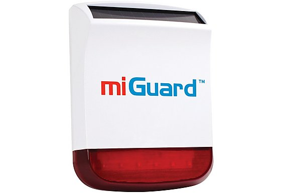 miGuard Wireless External Solar Siren