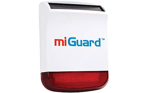 image of miGuard Wireless External Solar Siren