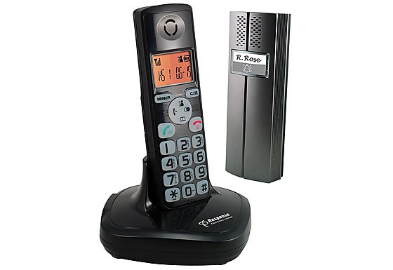 Response Wireless DECT Telephone Door Intercom