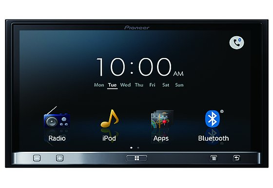 Pioneer SPH-DA110 Double Din App Radio with 7 Inch Multi-Touch Screen, GPS and Bluetooth