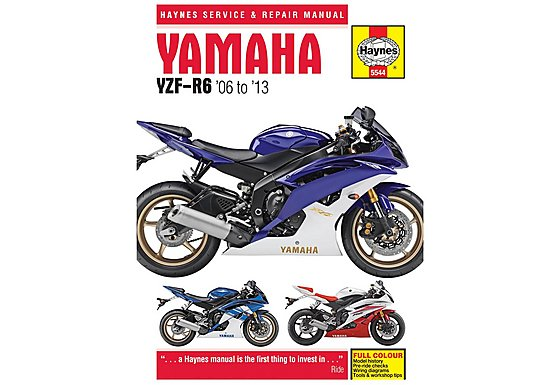 Haynes Yamaha YZF-R6 (06-13) Motorcycle Manual