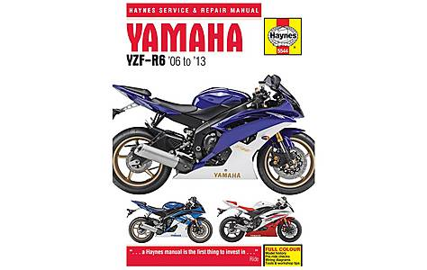 image of Haynes Yamaha YZF-R6 (06-13) Motorcycle Manual