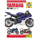 image of Haynes Yamaha YZF-R6 (06-13) Motorcycle Manual