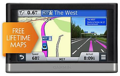 "image of Garmin nuvi 2597LM 5"" Sat Nav with UK, Ireland & Full Europe Lifetime Maps & Traffic Updates"